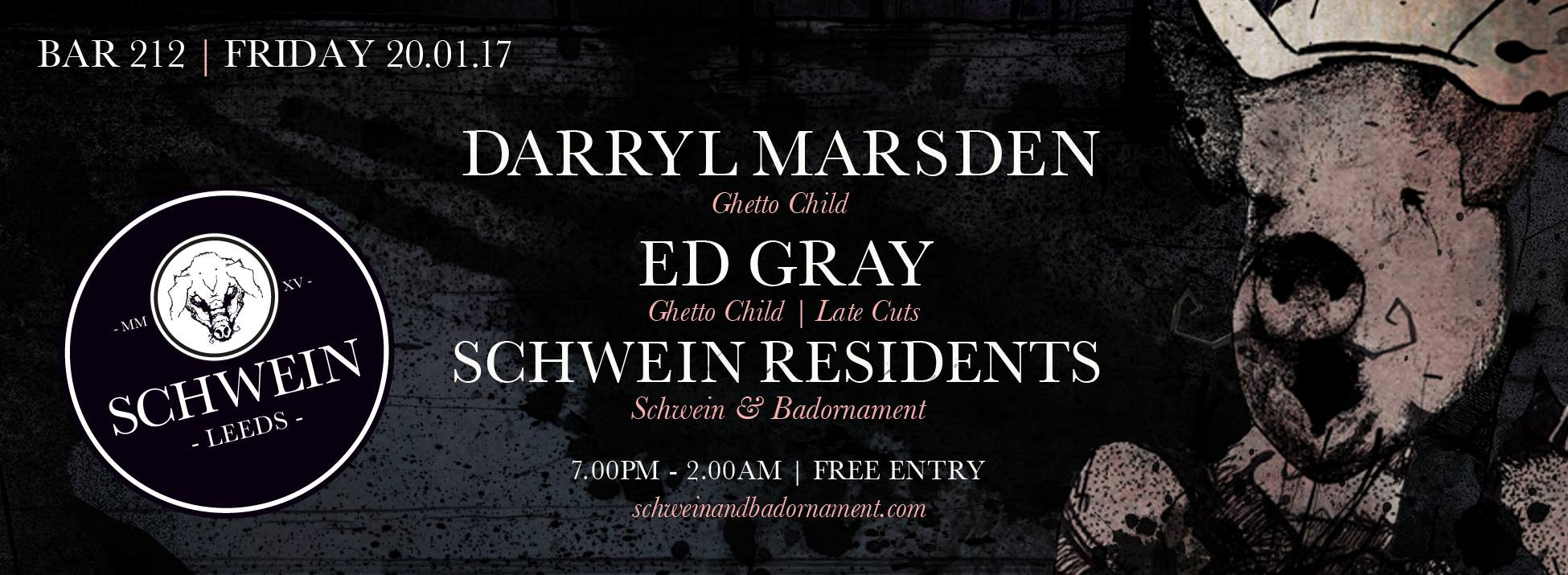 Darryl Marsden & Ed Gray (Ghetto Child) at 212…