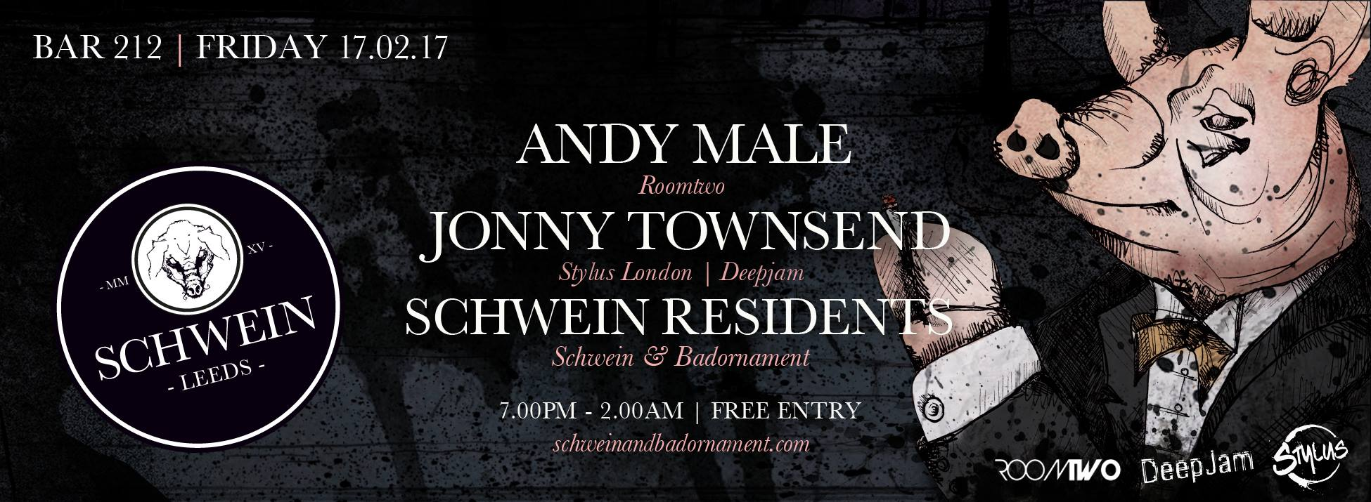 Andy Male & Jonny Townsend at 212