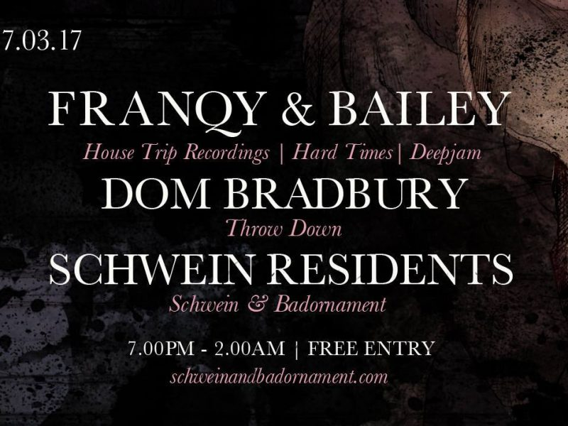 Franqy & Bailey / Dom Bradbury @ 212