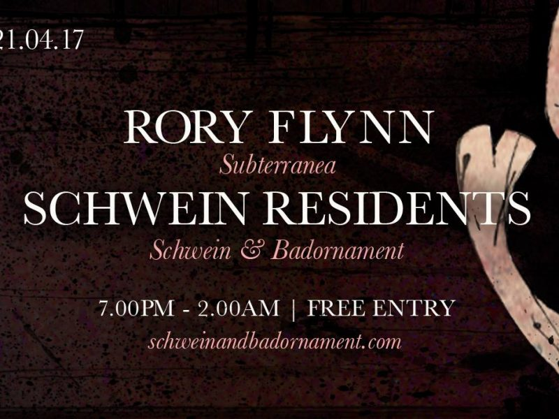 Rory Flynn and residents at 212